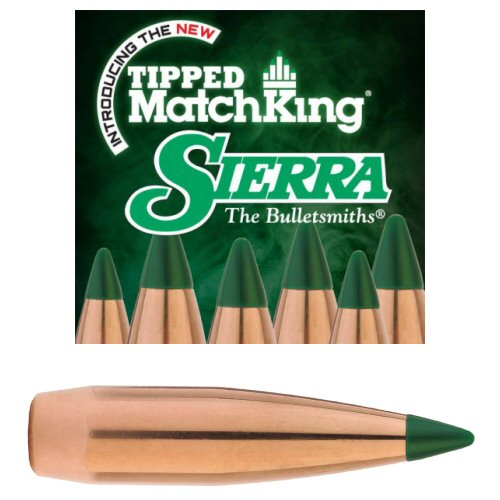 Sierra Tipped Match King Bullet  308 TMK 168gr Pk100